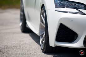 gsf lexus white vossen wheels lexus gsf vossen forgedprecision series vps 301