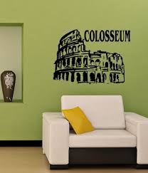 compare prices on italy wall murals online shopping buy low price italy rome colosseum wall vinyl sticker decal mural art china mainland