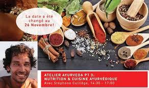 la cuisine ayurv馘ique atelier de cuisine ayurvédique composez votre assiette santé