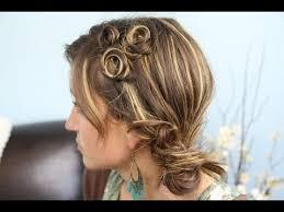 lace braid half up cute girls hairstyles makeup videos