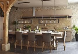 cuisine ouverte avec ilot table table cuisine ouverte envoûtant cuisine ouverte avec ilot table