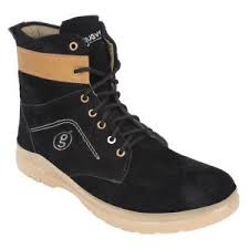 shopping for s boots in india buy guava s suede leather boots black product code