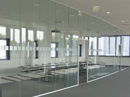 Office Interior Design Software by Colorful Office Interior Glass Design With Large Partitions