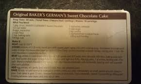 download bakers german chocolate cake icing recipe food photos