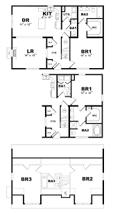 magnolia modular home floor plan