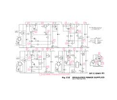 design of regulated power supply wiring diagram components