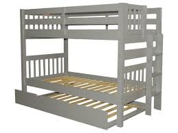 Bunk Beds Trundle Bunk Bed Gray Trundle 516 Bunk Bed King