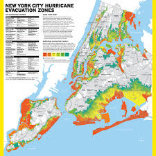 New World Order Map by Map Nyc Has New Hurricane Evacuation Zones Gothamist