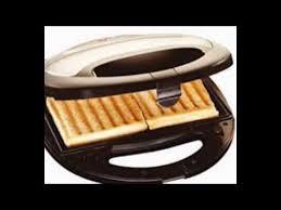 Kenwood Sandwich Toaster Morphy Richards Sm3006 750 Watt Sandwich Maker Silver And Black