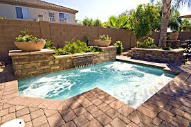 interior amusing small backyards pacific paradise pools for