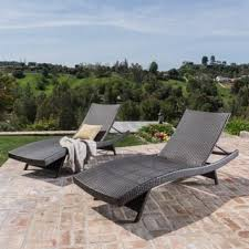 Chaise Lounge Outdoor Furniture Outdoor Chaise Lounges Shop The Best Deals For Nov 2017