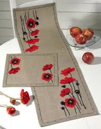 Kitchen Table Runners by Table Runners Scarves Cross Stitch Patterns U0026 Kits 123stitch Com