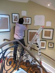 How To Hang Prints How To Hang A Gallery Photo Wall Photo Wall Walls And Galleries