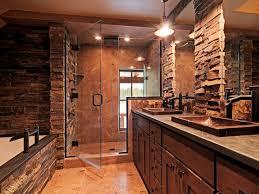 rustic bathroom ideas bathroom rustic bathroom idea with brown wood vanity sink