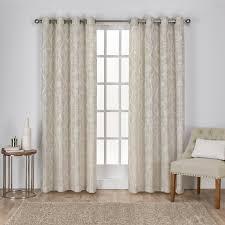 Blackout Curtain Panels With Grommets Amalgamated Textiles Lamont Nature Blackout Grommet Curtain Panels