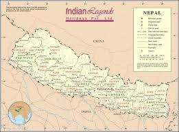 Himilayas Map Enchanting Nepal U2013 Welcome To Indian Legends Holidays