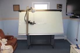 Hamilton Electric Drafting Table Huey Drafting Table Mutoh Drafting Machine Light