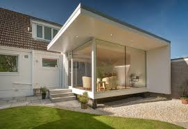 contemporary garden room by capital a architecture design milk