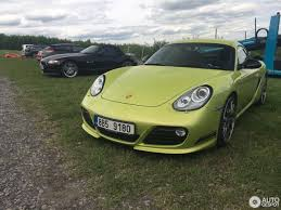 porsche cayman green porsche 987 cayman r 21 may 2017 autogespot