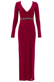 red berry gown by nicole miller for 100 rent the runway