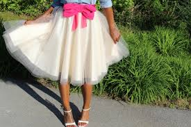 how to make a tulle skirt simple diy tulle skirt