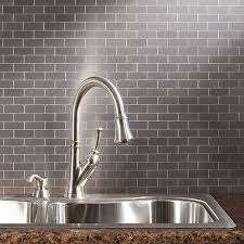 tiles backsplash stainless steel tiles for kitchen backsplash