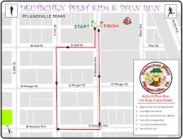 Map Run Route by 5k Pfun Run Walk And Kids 1k U2013 Deutschen Pfest