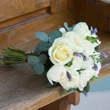 bridesmaid bouquet ivory bridesmaid bouquet