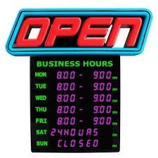 green light innovation led spectrum horizontal business hours open
