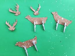 clothespin rudolph ornament camp