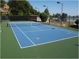 Backyard Basketball Half Court Backyards Mesmerizing Backyard Tennis Courts 10 Basketball Court
