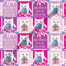 owl christmas wrapping paper purple owl christmas wrapping paper morellis design