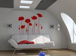 Popular Poppies WallpaperBuy Cheap Poppies Wallpaper Lots From - Poppy wallpaper home interior