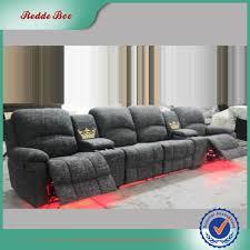 Cinema Recliner Sofa Fabric Led 4 Seater Cinema Recliner Sofa Buy 4 Seater Sofa 4