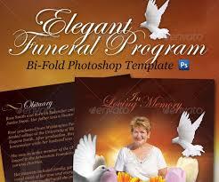 funeral program software 25 funeral program brochure templates