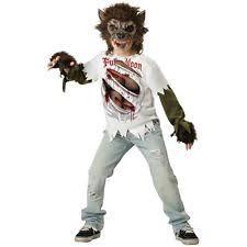 Halloween Costumes Ebay Werewolf Costume Ebay