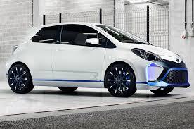 toyota car garage toyota yaris hybrid r concept first look automobile magazine