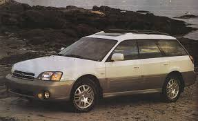 gold subaru legacy 2001 subaru outback h6 3 0 first drive review reviews car
