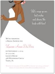 african american bridal shower invitations christmanista com
