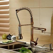 online get cheap gold kitchen pull faucet aliexpress com