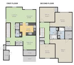 create floor plans free design templates try smartdraw it u0027s easy