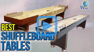 top 8 shuffleboard tables of 2017 video review