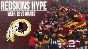 washington redskins 2017 week 12 hype redskins vs giants