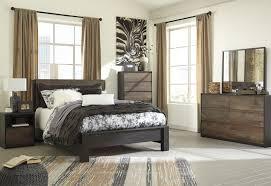 Bedroom Dresser Mirror Windlore 5 Pc Bedroom Dresser Mirror Panel Bed B320