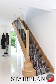 Glass Banister Uk Houston Oak Staircase Glass Balustrade Design