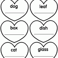 valentine u0027s day a to z teacher stuff printable pages and worksheets