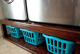 Laundry Room Storage Between Washer And Dryer by Craftyc0rn3r Washer And Dryer Pedestal