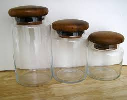 vintage glass canisters kitchen 113 best canisters images on kitchen canisters