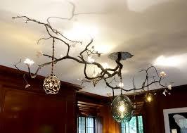 Twig Light Fixtures Fabulous Branch Chandeliers David Wiseman Branch Light Fixture