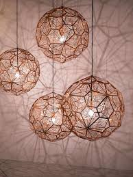 Hanging Lights For Dining Room Best 25 Copper Pendant Lights Ideas On Pinterest Copper